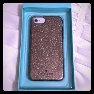 Kate spade glitter iPhone 7 case